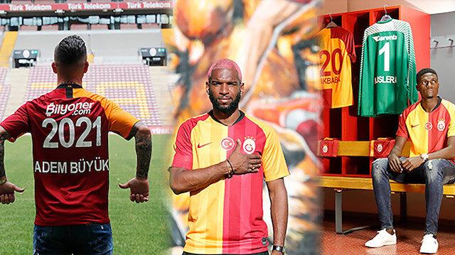 Galatasaray 3 transfer duyurdu, tanıtım videoları sosyal medyada gündem oldu