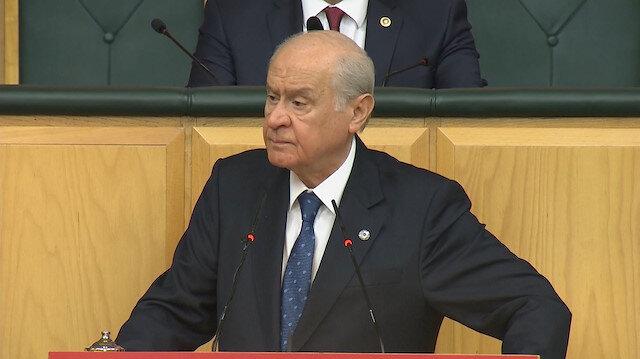 Bahçeliden Gül ve Davutoğlunun yeni parti girişimlerine sert eleştiri