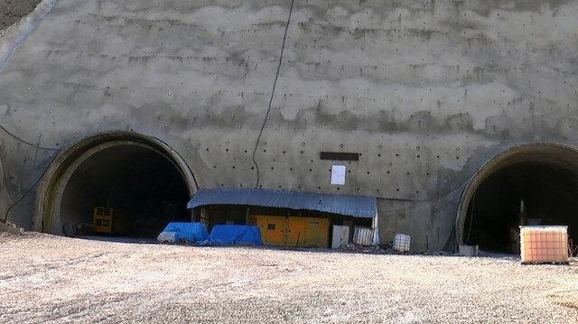 Türkiye'nin en uzun 3. tünelinde kazı çalışmaları tamamlandı