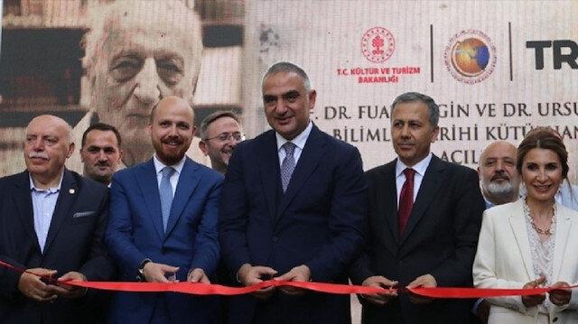 Prof. Dr. Fuat Sezgin kütüphanesi açıldı