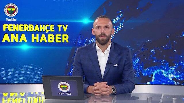 Vedat Muriç kendi transfer haberini sundu