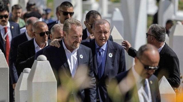Cumhurbaşkanı Erdoğan soykırım kurbanları anma törenine katıldı