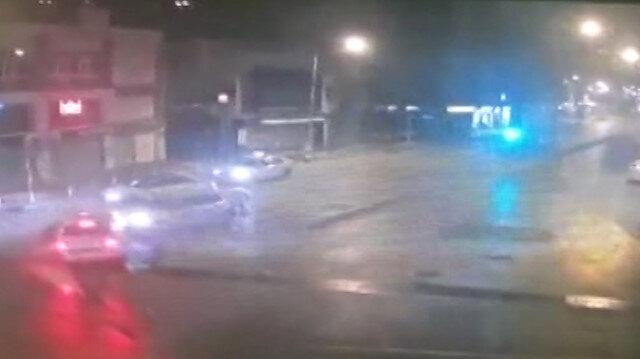 Emniyet müdürünün yaptığı kaza güvenlik kamerasında 1 kişi yaşamını yitirdi