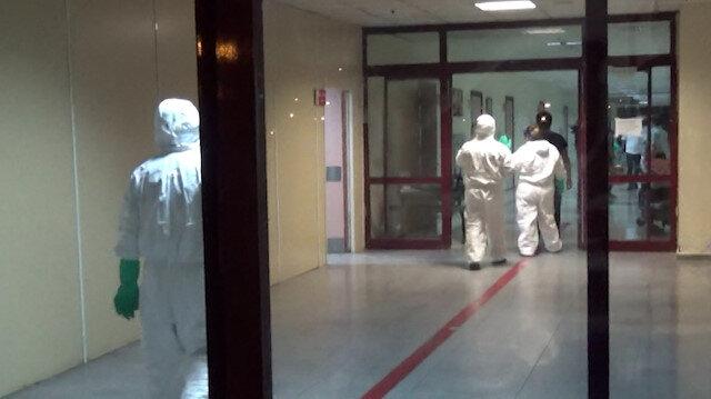 Kimyasal madde paniği hastanenin acili kapatıldı