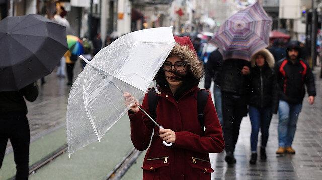 Meteorolojiden 10 ile yağış uyarısı
