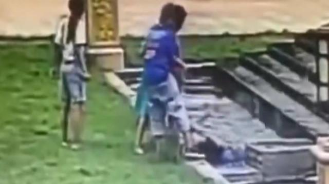 Süs havuzunda akıma kapılan çocuk hayatını kaybetti