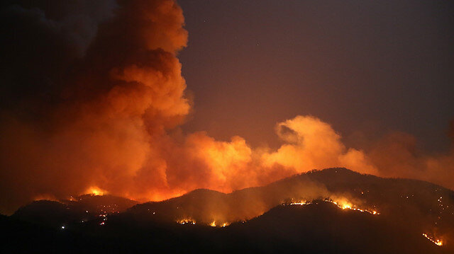 Muğla'daki yangın 18 saat sonra kontrol altında