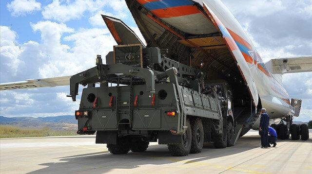 S-400 parçaları böyle teslim alındı