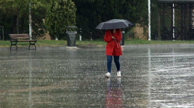 Meteorolojiden 34 ile yağış uyarısı