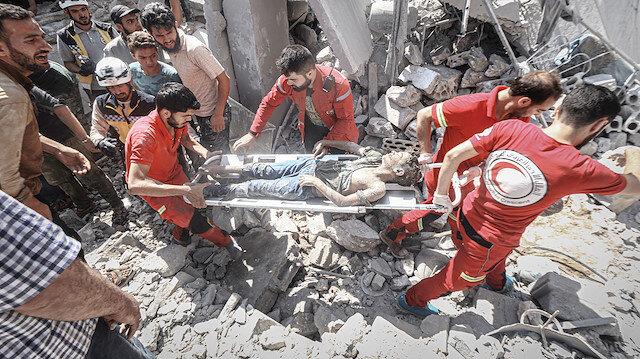 İdlib'e ölüm yağıyor!