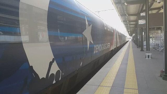 15 Temmuz treni İstanbula geldi