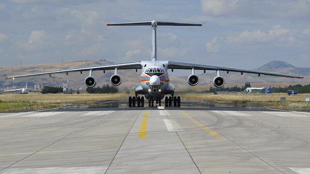 S-400'lerde 7. uçak Mürted'e indi