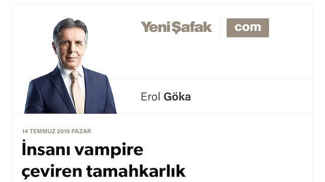 İnsanı vampire çeviren tamahkarlık