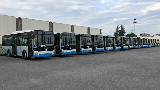 Ürdün'ün toplu taşıma sorununu Türk otobüsleri çözecek