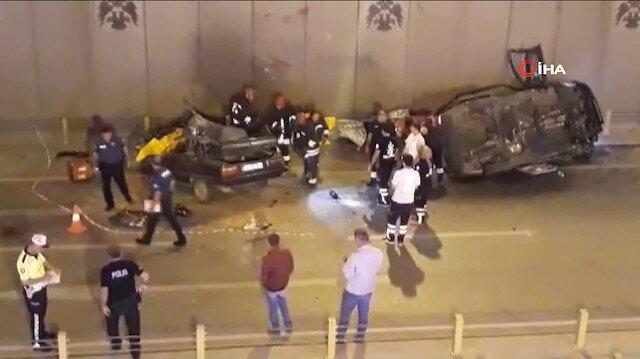 Konya'da korkunç kaza: 7 kişi hayatını kaybetti