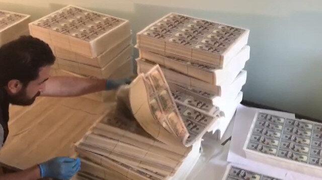 Esenyurtta tarihin en büyük sahte dolar operasyonu