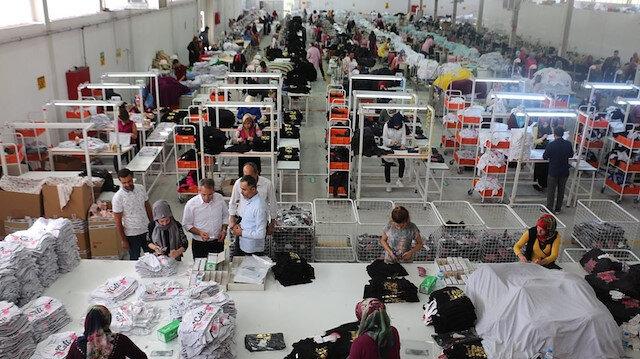 Tosya'da tekstil fabrikası 150 kişi istihdam edecek
