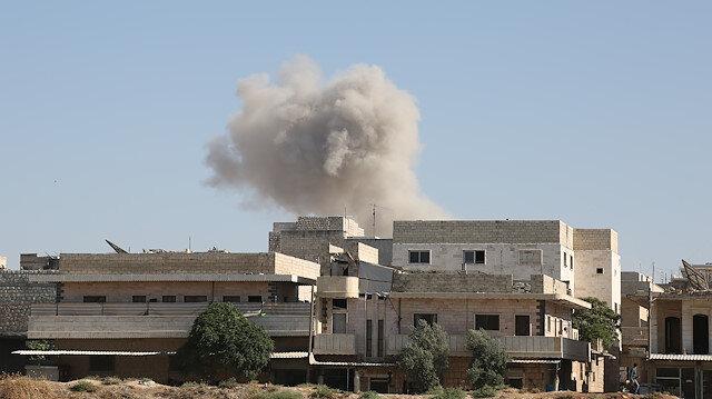 İdlib bombardıman altında