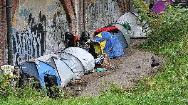 Almanya'daki evsizlerin sayısında büyük artış