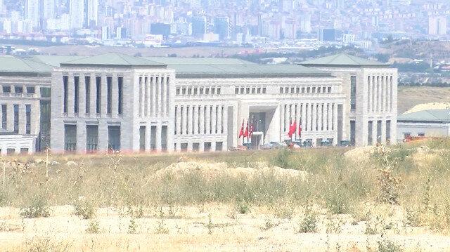 MİTin ana karargah binası kale bina görüntülendi