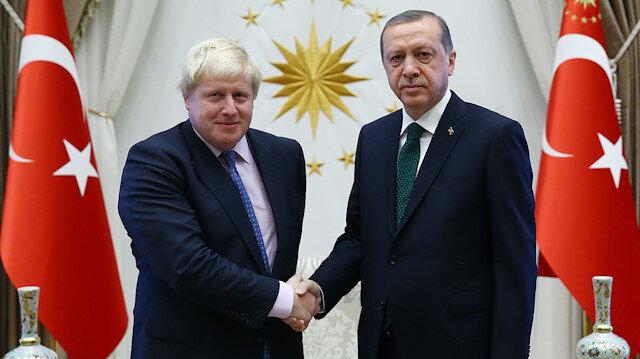Cumhurbaşkanı Erdoğan'dan Johnson'a tebrik telefonu