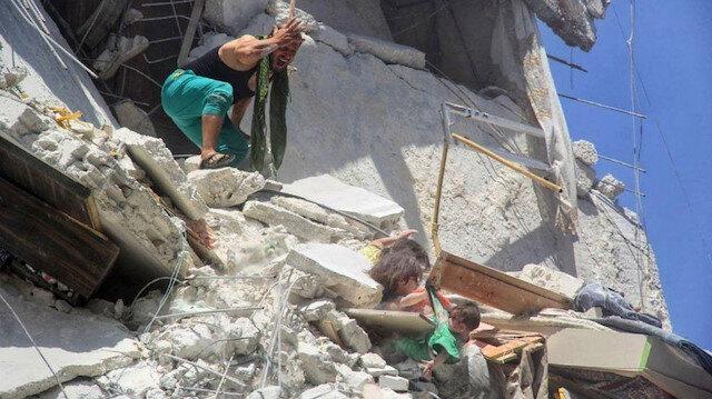 Suriye'de 1 ayda 119'u çocuk, 433 sivil öldü