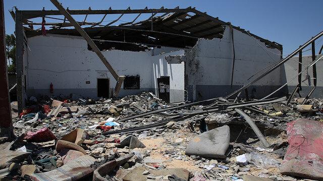 Hafter mahalleyi hedef aldı: 20 ölü