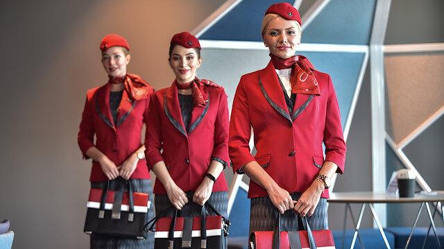 THY'nin yeni ekip kıyafetleri tanıtıldı