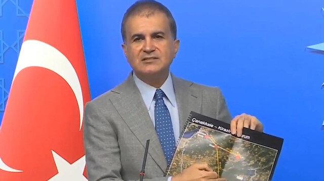 AK Parti sözcüsü Ömer Çelik: Türkiyenin tüm çevre meseleleriyle ilgili büyük hassasiyete sahibiz