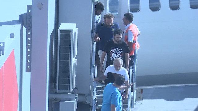 Nijeryada kaçırılıp serbest bırakılan Türk denizcileri İstanbulda