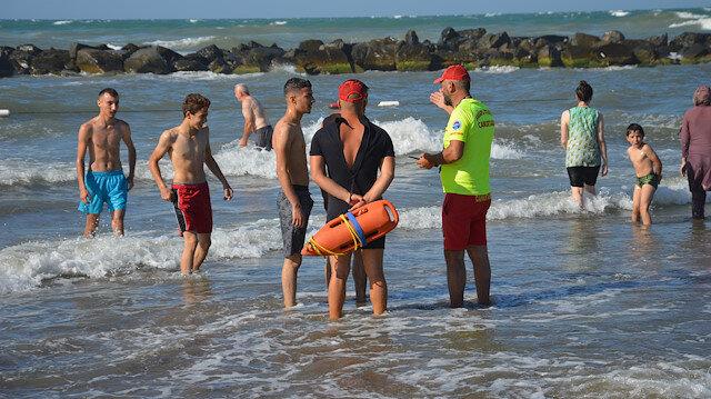 Sakarya'da denize girmek yasaklandı