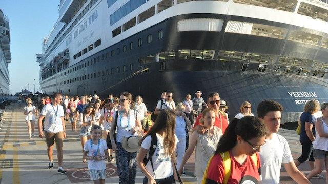 Ege Port limanı çifte bayram yaşattı.