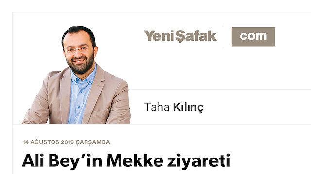 Ali Bey'in Mekke ziyareti