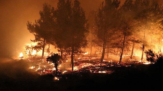 2 günde 27 yangın