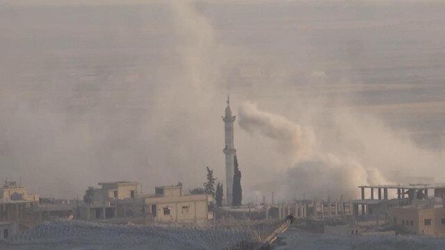 İdlibe Hava Saldırıları Devam Ediyor