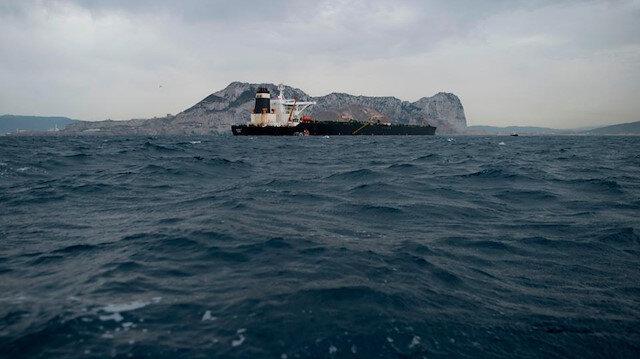 ABD İran tankeri için Cebelitarık'a başvurmuş