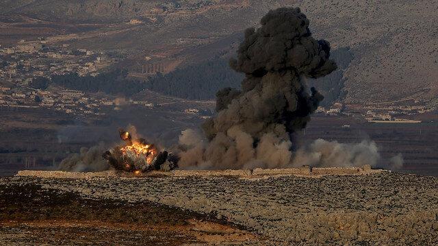 Zap'ta PKK'ya ait sığınak ve barınaklar imha edildi