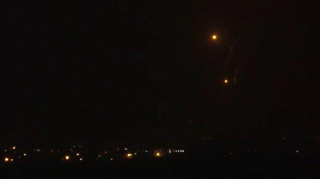 İşgalci İsrailden Gazze'ye bombalı saldırı