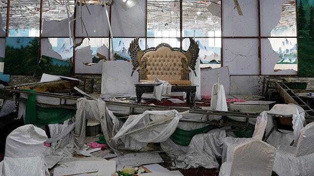 Afganistan'da düğün salonunda intihar saldırısı