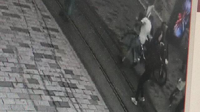 İstiklal Caddesinde motosikletiyle dehşet saçtı