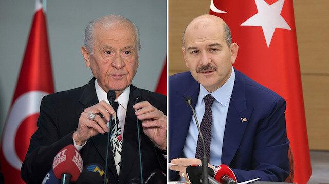 Bahçeli, Süleyman Soylu'yu aradı: Hükümete desteğimiz tam