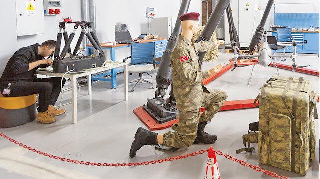 Askeri teknoloji üssünde 3. etap