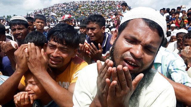 Arakanlılar Myanmar zulmünü protesto etti