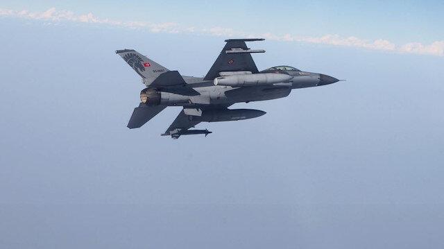 Hava harekatlarında 24 terörist öldürüldü