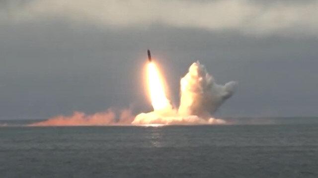 Rusya nükleer denizaltılarla füze denemesi gerçekleştirdi