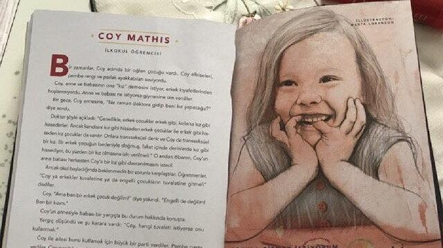 Yine çocuk kitabı yine skandal: Anne baksana ne kadar tuhaf bir şey yazıyor'