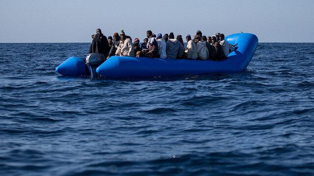 Akdeniz'de göçmenleri taşıyan tekne battı: 40 kayıp