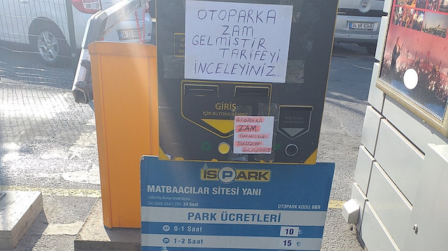 İstanbullular neye uğradığını şaşırdı: İSPARK'ta yüzde 70'e varan zam!