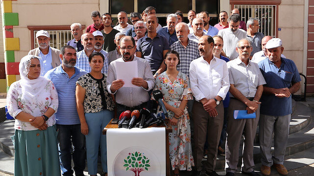 HDP'den eylem yapan anneler için açıklama:'Oyun oynuyorlar'