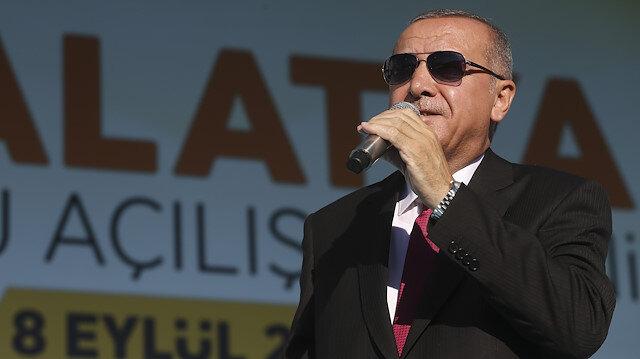Erdoğan: Müttefikimiz terör örgütü için güvenli bölge istiyor